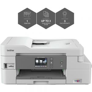 Brother DCP-J1100DW All-in-Box A4 Colour Inkjet Wireless Multifunction Printer