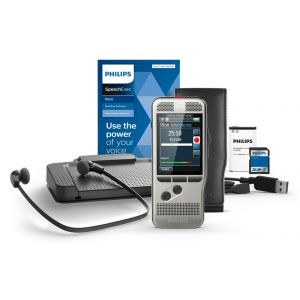 Philips DPM7700 Pocket Memo Digital Dictation Recorder and Transcription Set