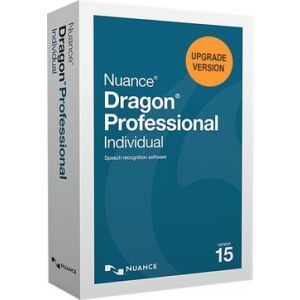 Nuance Dragon Professional Individual Speech Recognition Software - Version 15 (UPGRADE VERSION)