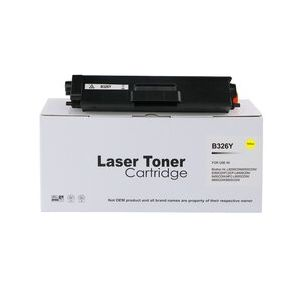 Compatible Brother TN326Y Yellow High Capacity Toner