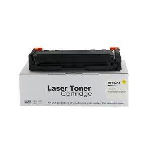 Compatible HP CF402X Yellow High Capacity 201X Toner