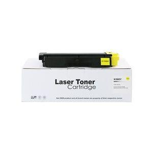 Compatible Kyocera TK580Y Yellow Toner