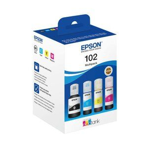 Epson 102 Eco Tank 4 Colour PACk Ink Cart
