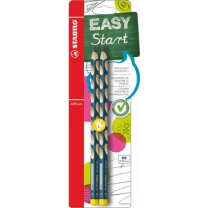 Stabilo EASYgraph HB Pencil Left Handed (Pack 2)