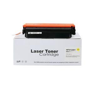 Compatible HP CF412X Yellow High Capacity 412X Toner