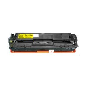 Compatible HP CB542A Yellow also for Canon EP716Y Toner