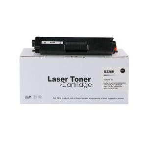 Compatible Brother TN326BK Black High Capacity Toner