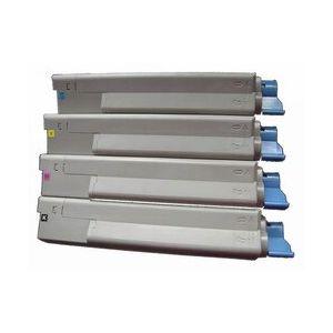 Compatible OKI C5850C Cyan 43865723 Toner
