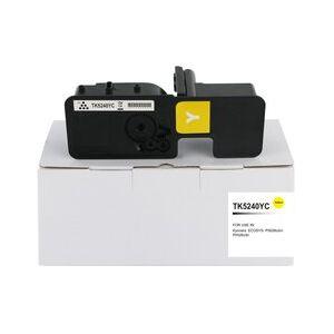 Compatible Kyocera TK5240Y Yellow Toner