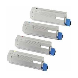 Compatible OKI C5650M Magenta 43865706 43872306 Toner