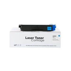 Compatible Kyocera TK580C Cyan Toner