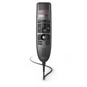 Philips LFH3500 SpeechMike Premium Push Button USB Dictation Microphone