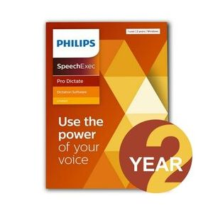 Philips LFH4412 SpeechExec Pro Dictate - 2 Year Subscription (Download)