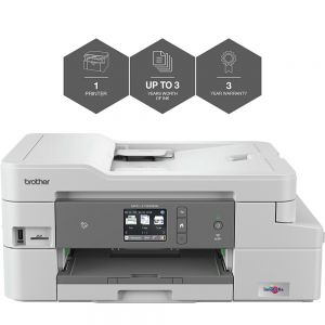 Brother MFC-J1300DW All-in-Box A4 Colour Inkjet Wireless Multifunction Printer