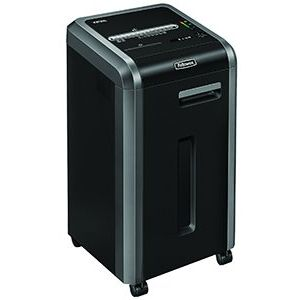 Fellowes 225Mi Shared Workspace Shredder 2x12mm Micro Shred 60 Litre Din4 14 Sheet Ref 462210