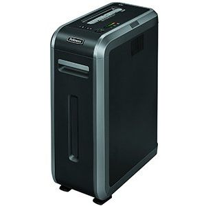 Fellowes 125i Professional Shredder 5.8mm Strip Cut 49 Litre DIN2 18 Sheet Ref 4613101