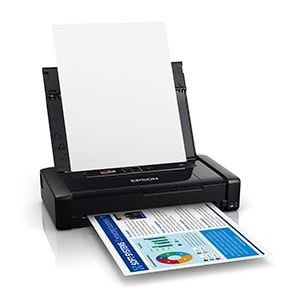 Epson WorkForce WF-110W Mobile A4 Colour Printer (C11CH25401DA)