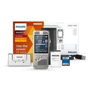 Philips DPM8000 Pocket Memo Digital Dictation Recorder with SpeechExec Pro Dictate Software