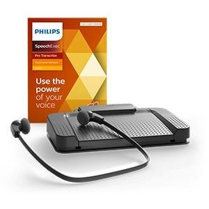 Philips LFH7277 Transcription Kit & SpeechExec Pro Transcribe Software